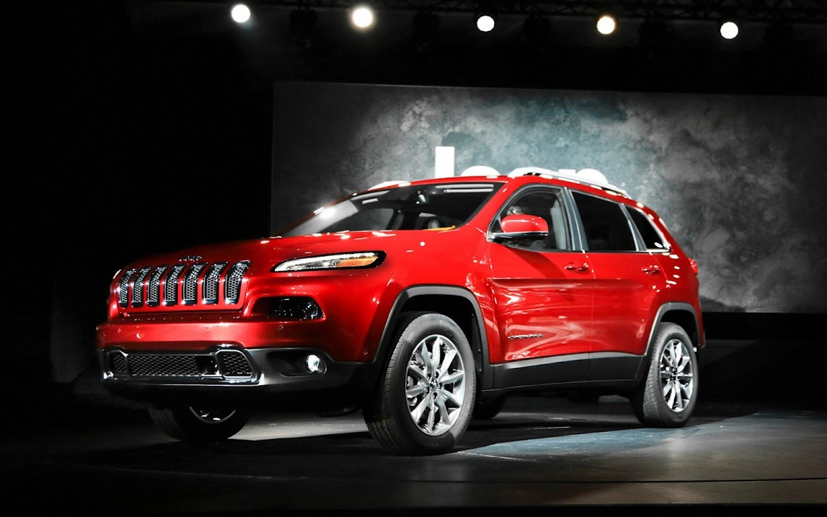 2014 Jeep Cherokee Widescreen HD Wallpaper 7