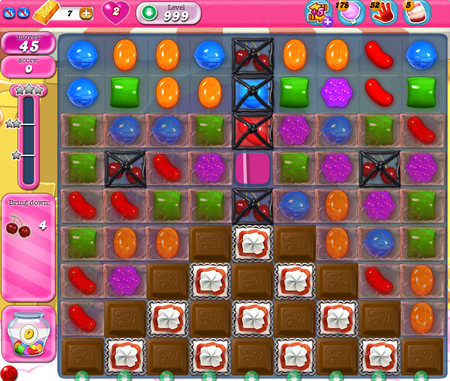 Candy Crush Saga 999