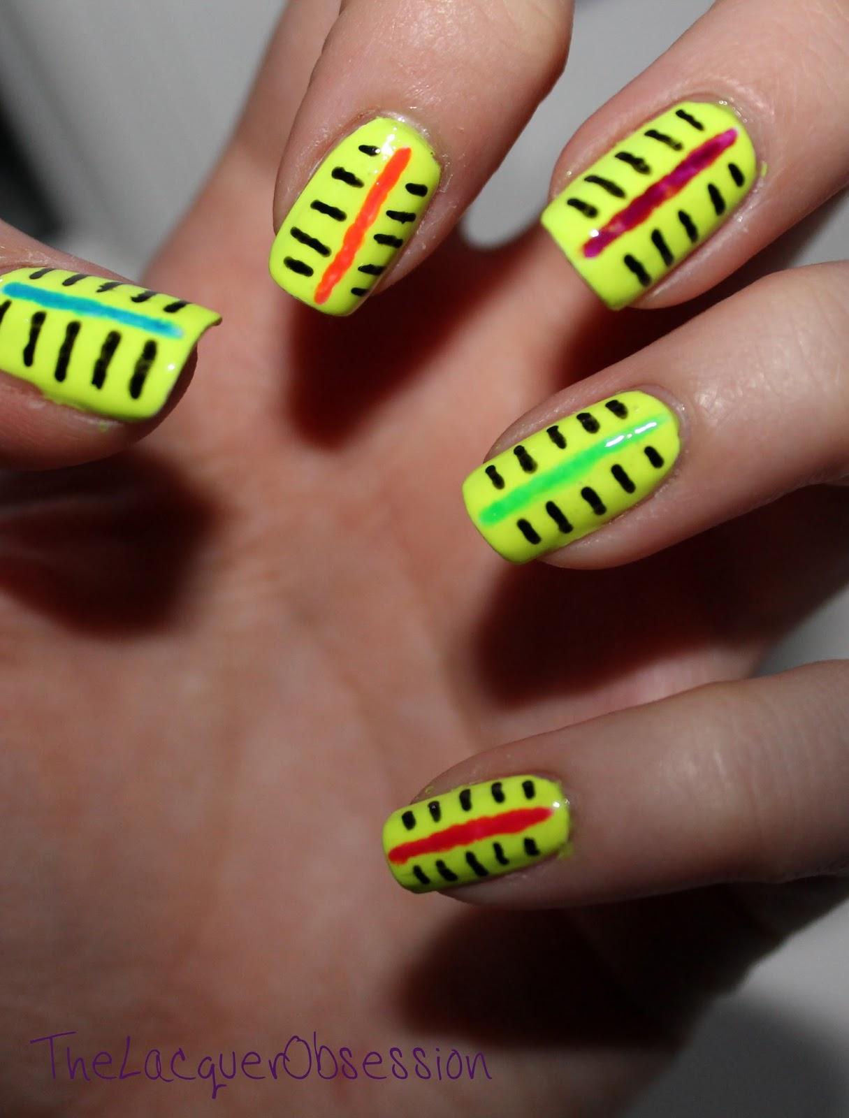 Nail Art Design For 14 August