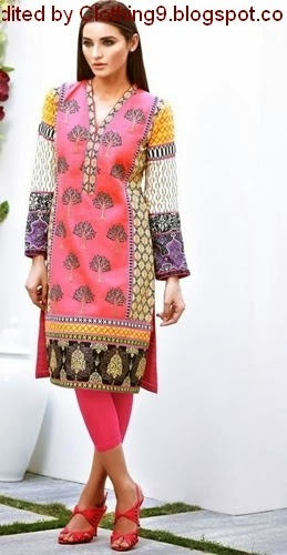 Asim Jofa Tunic 2015 With Prices