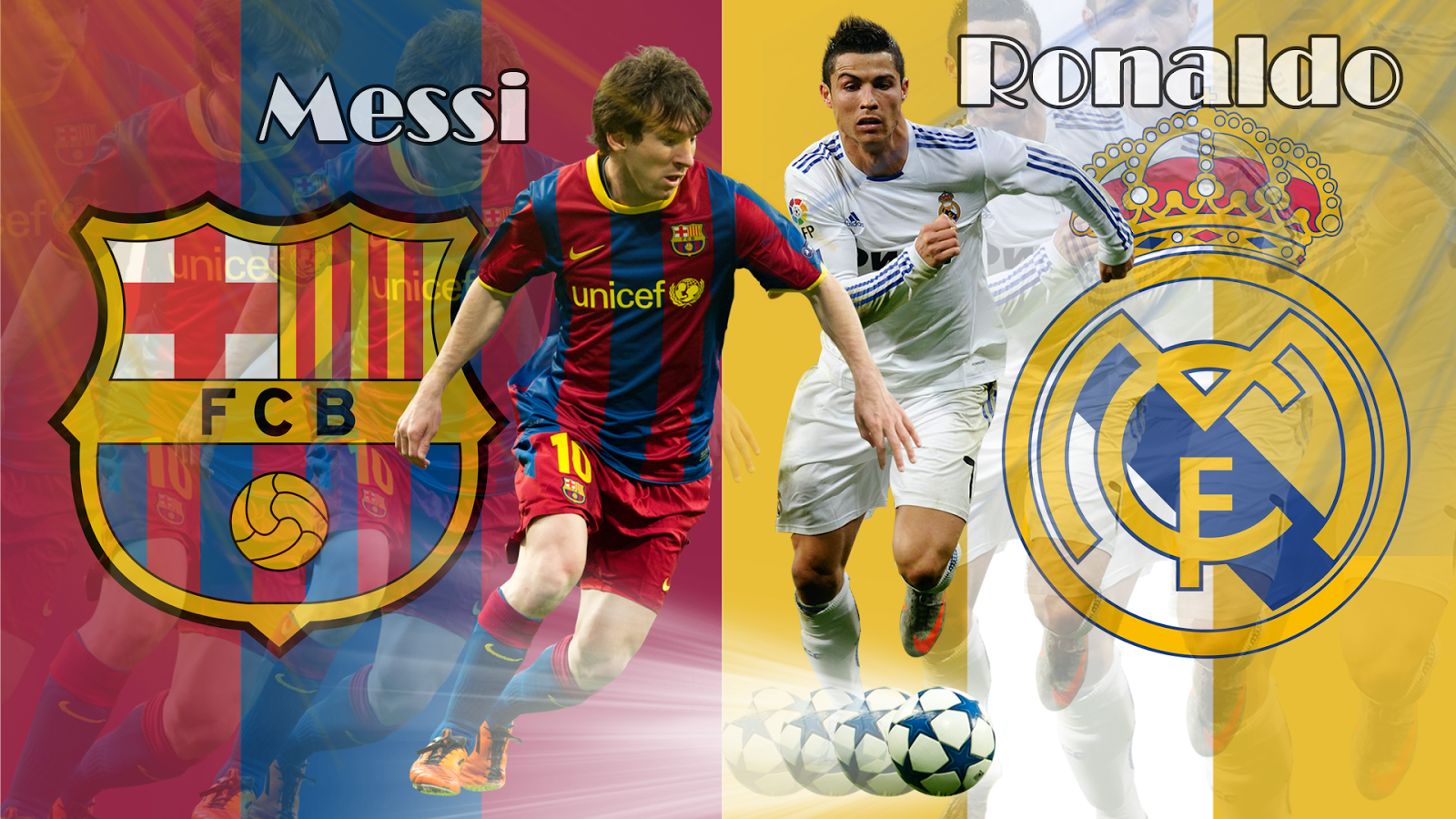 messi vs ronaldo wallpaper 2013-0 pngMessi Vs Ronaldo