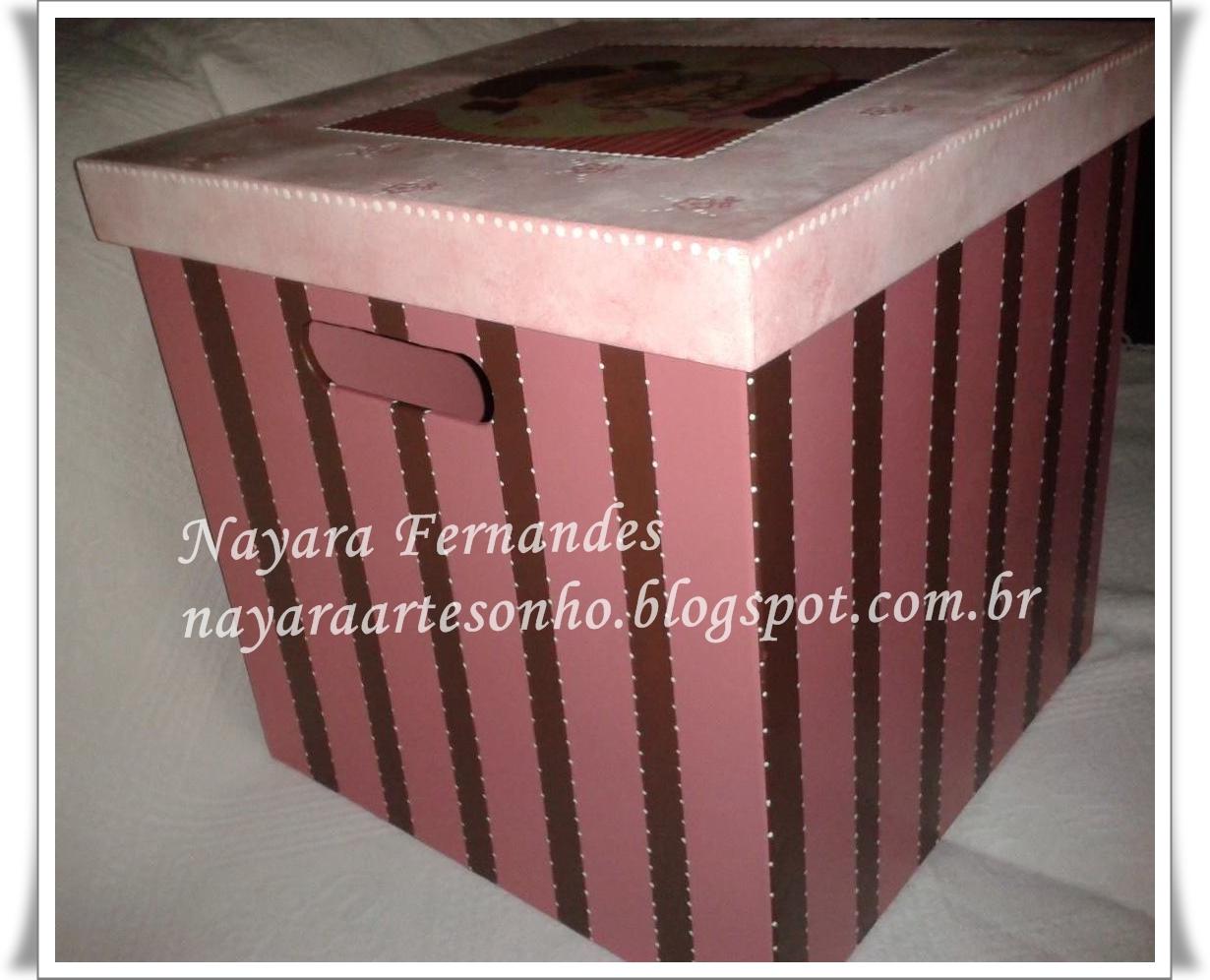 Nayara artesonho: Caixa de brinquedo em mdf menina com seu urso ! #864548 1230x996