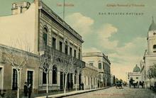 Colegio Nacional y Tribunales