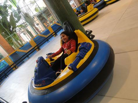 Bumper Car no Bangu Shopping