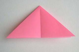 cara membuat origami bunga lily cantik