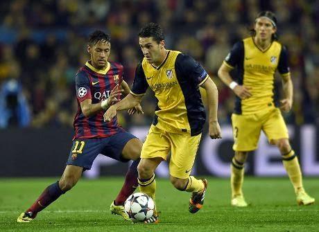 Video Cuplikan Gol Barcelona VS Atletico Madrid 1-1