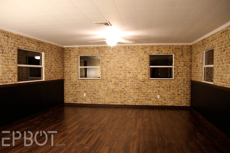 Painting Fake Brick Paneling Epbot Diy Faux Brick Painting Tutorial