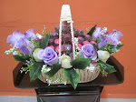 Chocolate Rose Pink/Purple Hantaran Rose