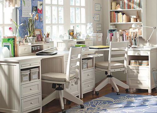 Little Girls Bedroom Study Table Designs