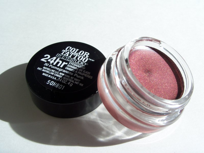 1000 images about cream eyeshadows on pinterest for Maybelline color tattoo in pomegranate punk