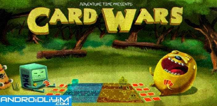 Card Wars - Adventure Time Android FULL APK DATA İndir - androidliyim.com