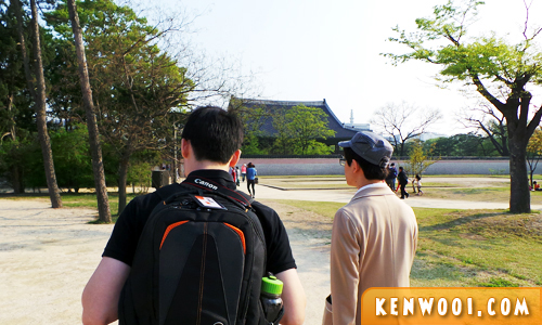 korea seoul palace guided tour student