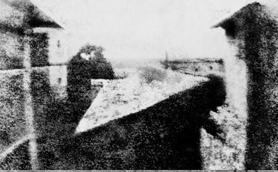 Joseph Nièpce, Vista dalla finestra a Le gras
