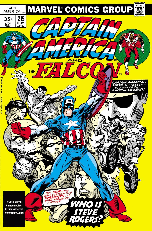 Captain America (1968) Issue #215 #129 - English 1