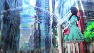 Brama otwierająca się w Tokio