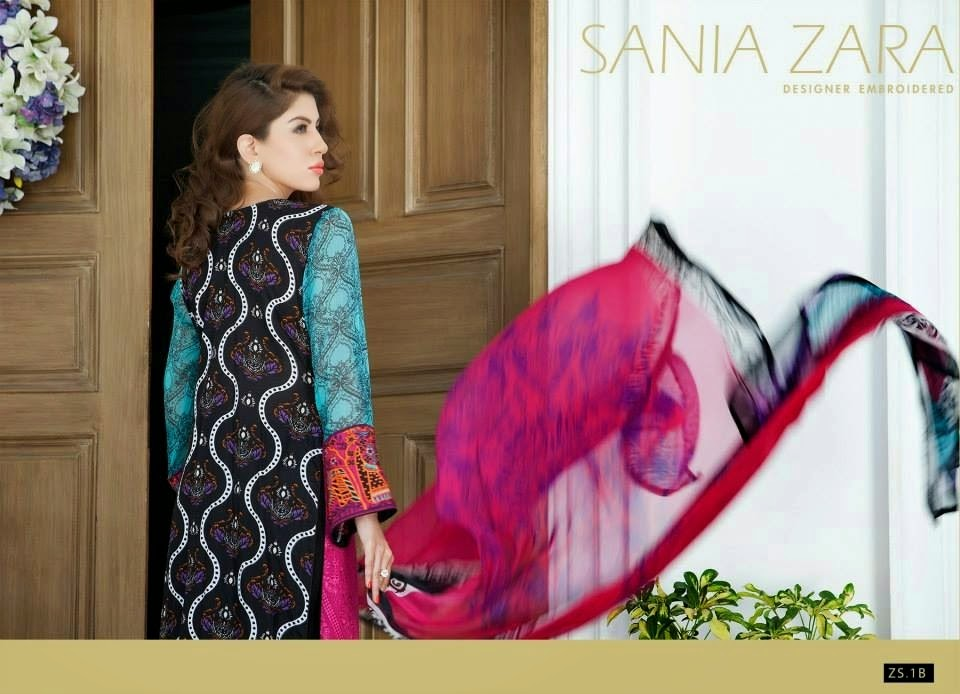 Designer Embroidered Summer Collection