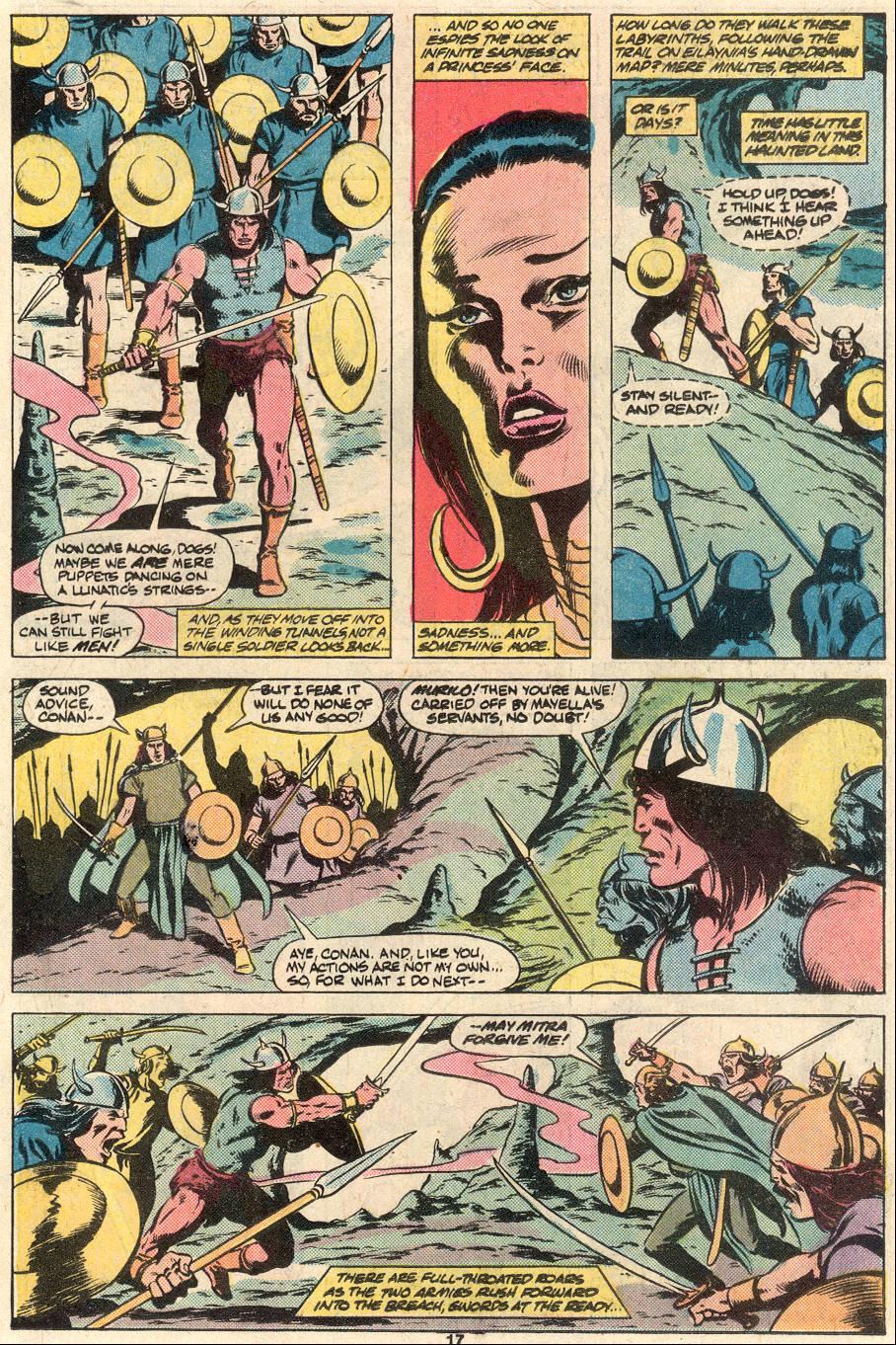 Conan the Barbarian (1970) Issue #124 #136 - English 14