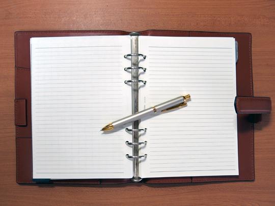 鷹野の手帳