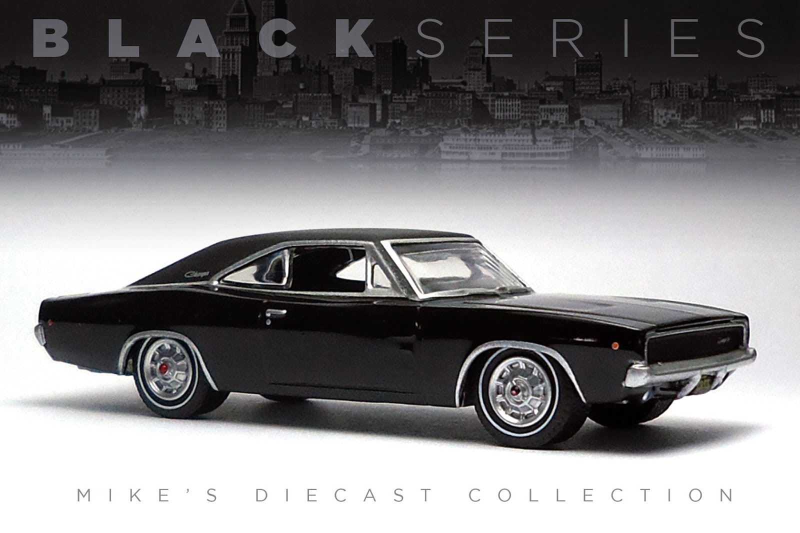 Mikes Diecast Collection 1968 Dodge Charger R T 440 White The Real From Movie