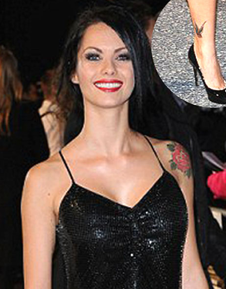 celebrity tattoos female 2011