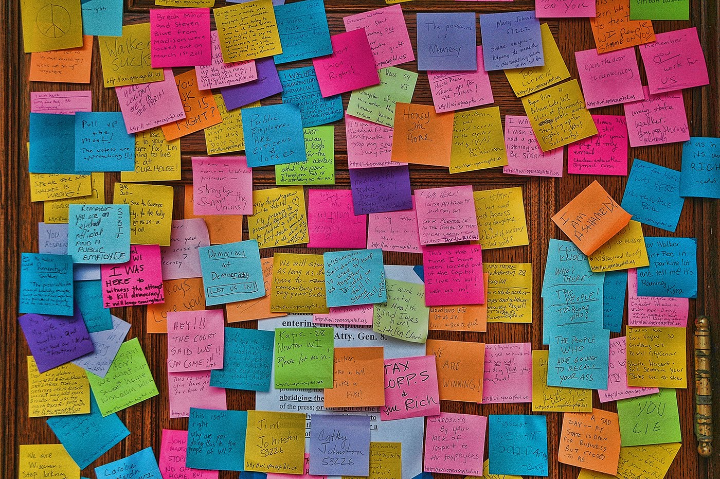 Pursuing Fate And Inevitability Notes On The Wall