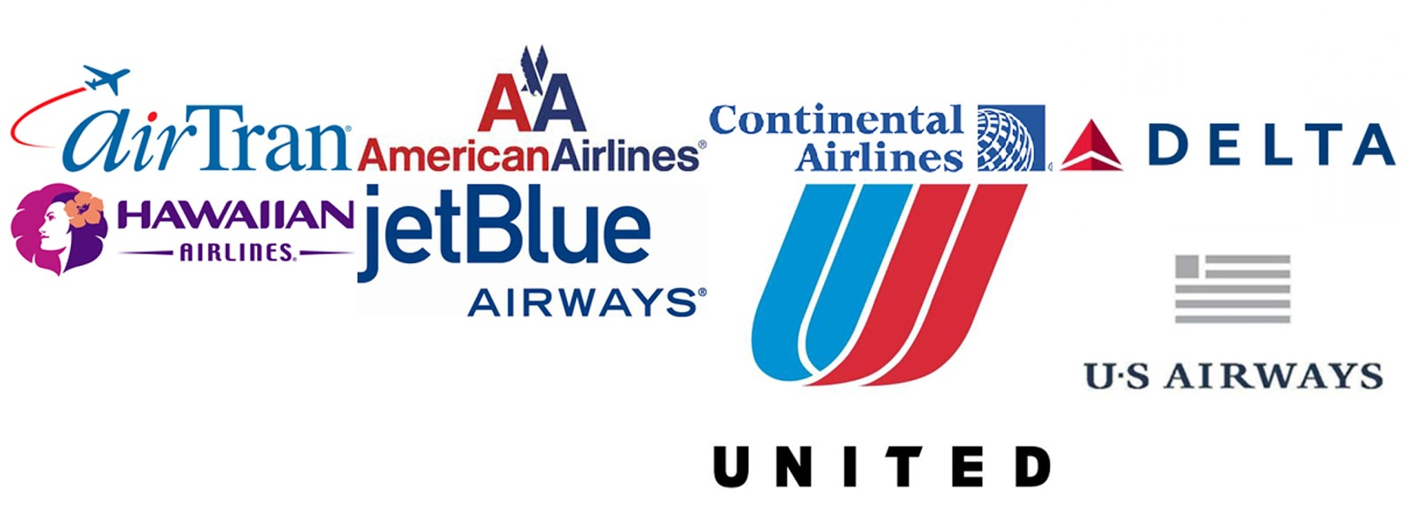 Flag Carrier Airline Logos Major Airline Carrier Logos