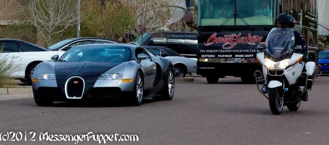 Bugatti Veyron Barrett Jackson