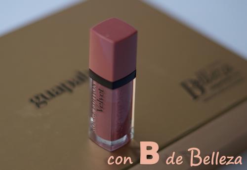 Rouge edition velvet les nudes Bourjois