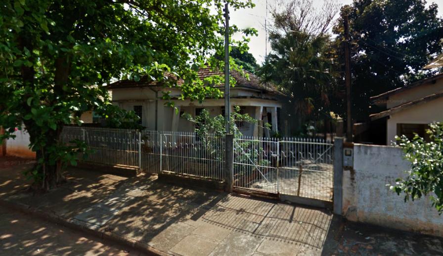 Casa de Maurício Xavier Duque, na rua Cuiabá, construída nos anos 50