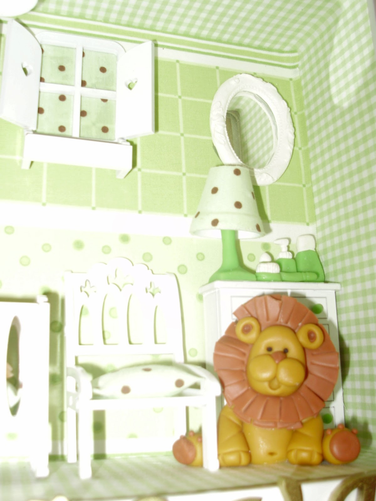 Coisas de Lu Ateliê Decoração para quarto de Bebê Safari ~ Quarto Safari Rosa