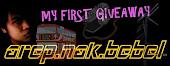 AREPNAKBEBEL first giveaway