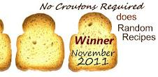 November 2011 Winner