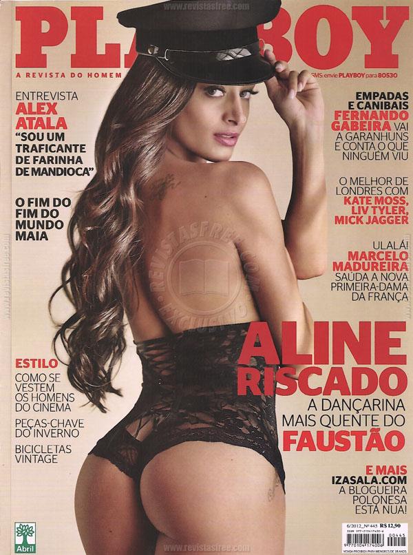Fotos de Aline Riscado nua na Playboy