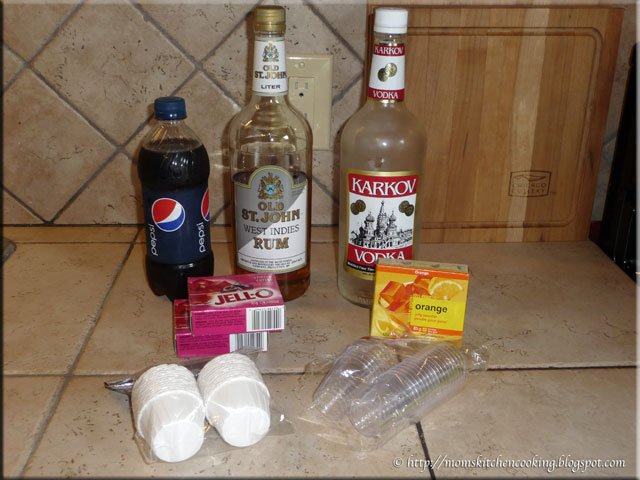 jello shooter ingredients