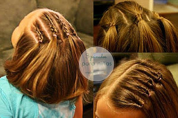 3 Peinados Para Ninas Melenas Cortas - Peinados-para-melenas-cortas