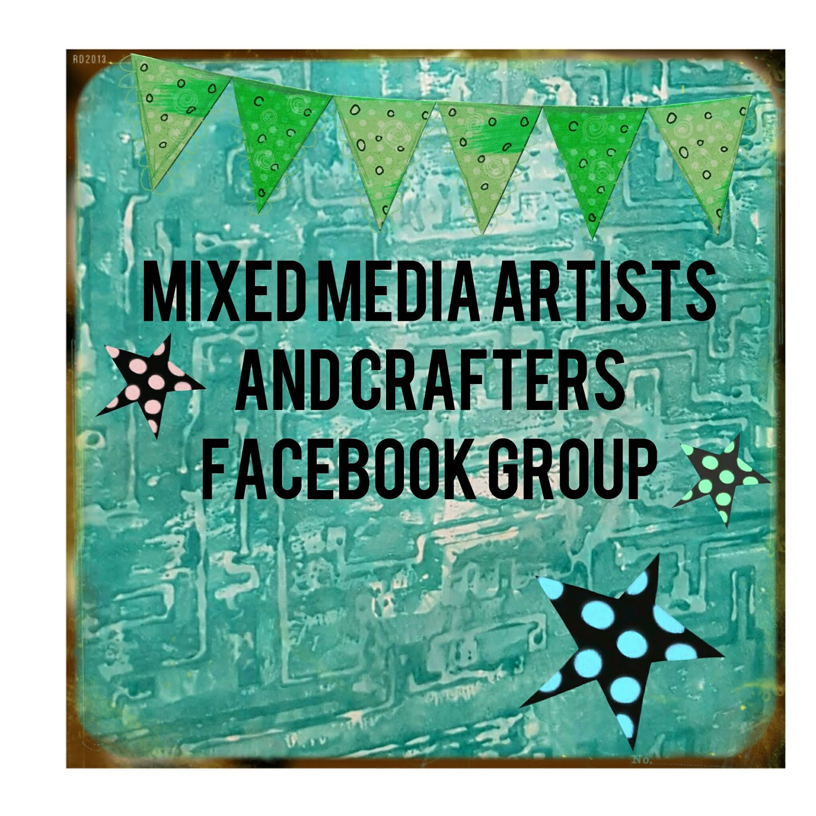 An  Admin Of Mixed Media Artist And Crafters