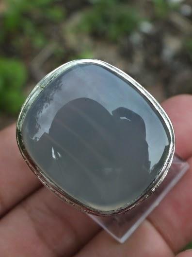 Chrome Sphene Ring