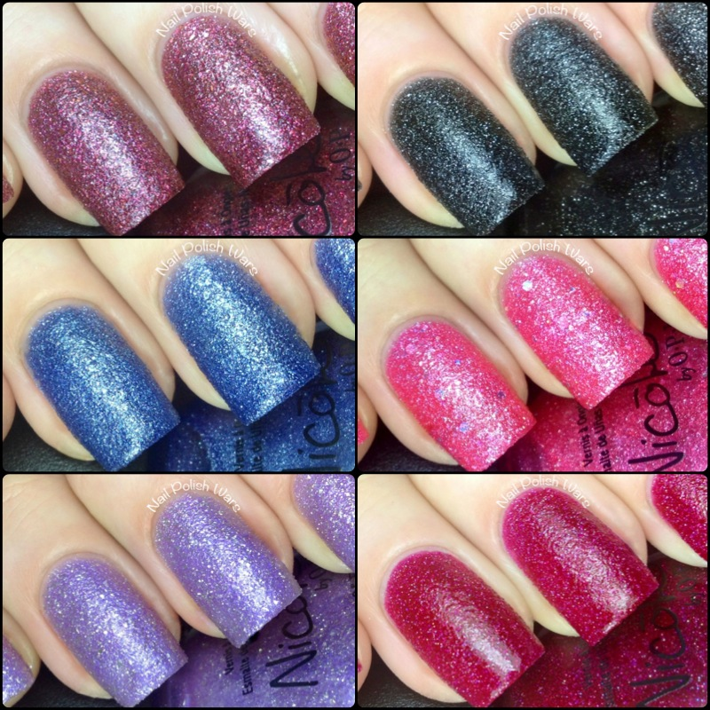 Nail Polish Wars: Nicole by OPI Limited Edition Gumdrops Collection ...