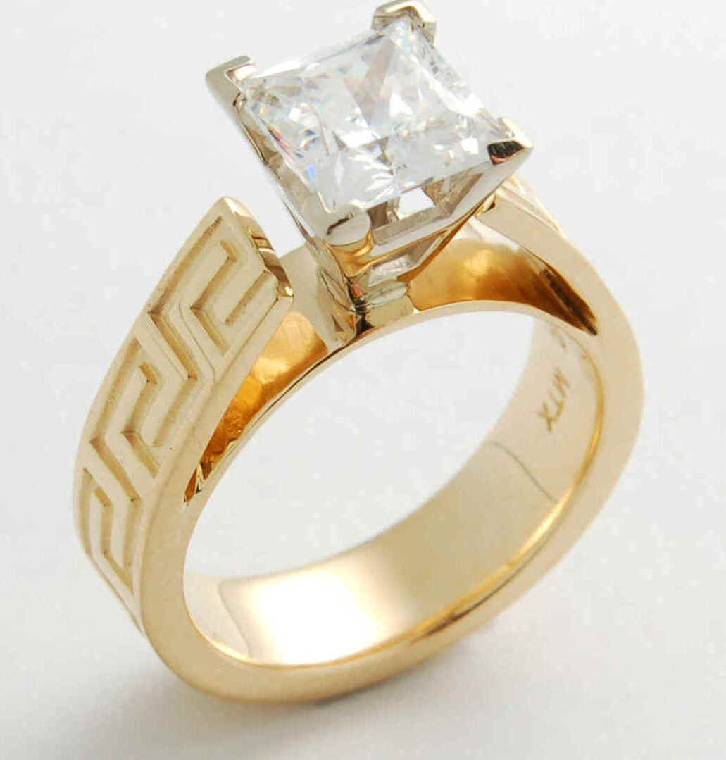 Beautiful wedding rings pictures diamondgoldsilver for Diamond wedding ring images