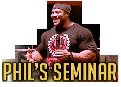 Phil Heath's Seminar