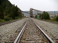 Les vies del tren Manresa - Sallent
