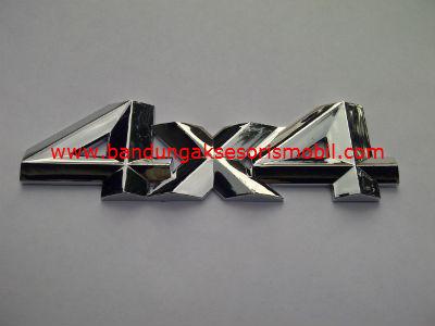 Emblem Car Logo 4X4