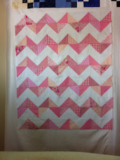 how to draw a chevron pattern