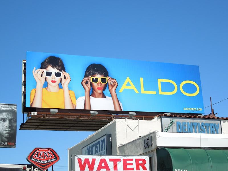 Aldo eyewear SS 2013 billboard