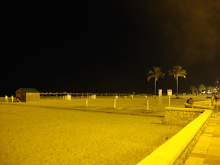Sant Antoni Beach - night photo - Cullera - Valencia
