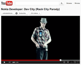 Nokia Developers promote Microsoft Ready Set Code hackathon challenge with hip-hop parody, Dev City