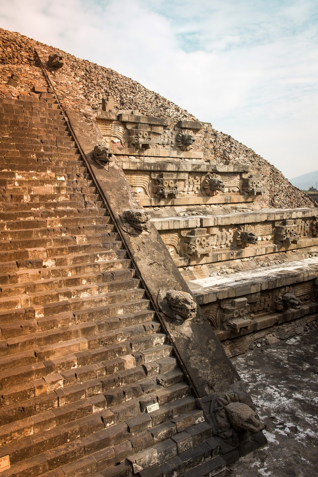 wo ist die runde pyramide in mexico