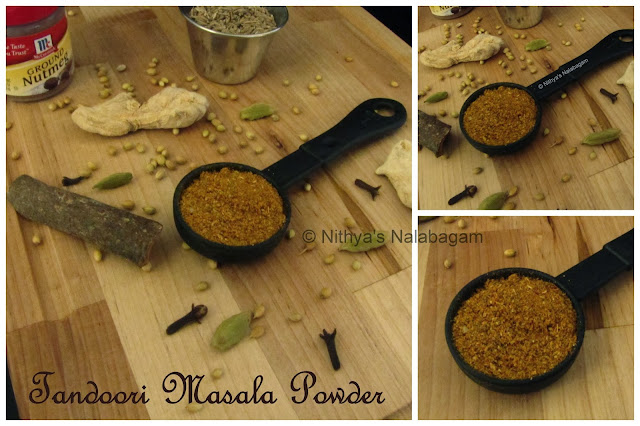 Home-made Tandoori Masala Powder