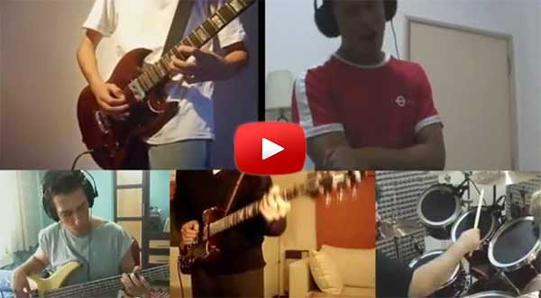 Filipino sings Sweet Child O' Mine like Axl Rose in collaboration video