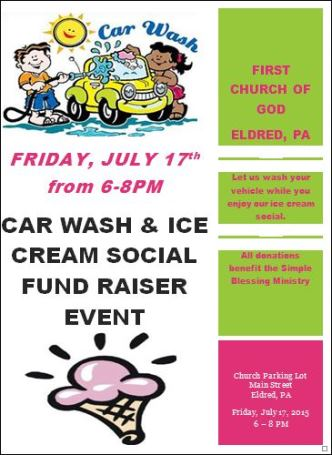 7-17 Car Wash & Ice Cream Social